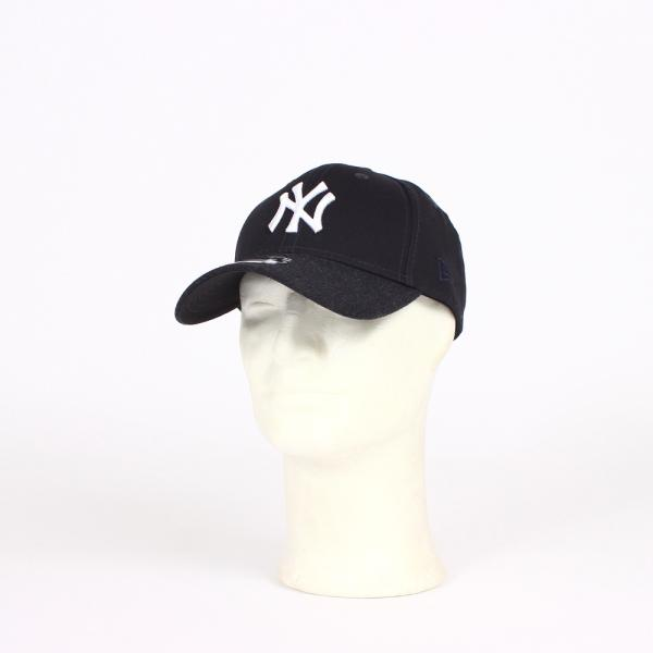 Team NEW YORK YANKEES Heather Visor Cap