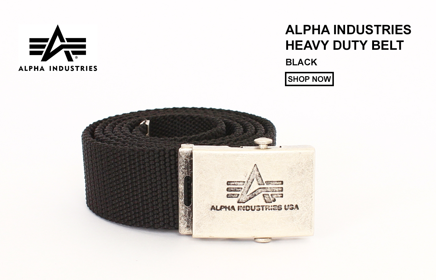 Alpha Industries Heavy Duty Belt