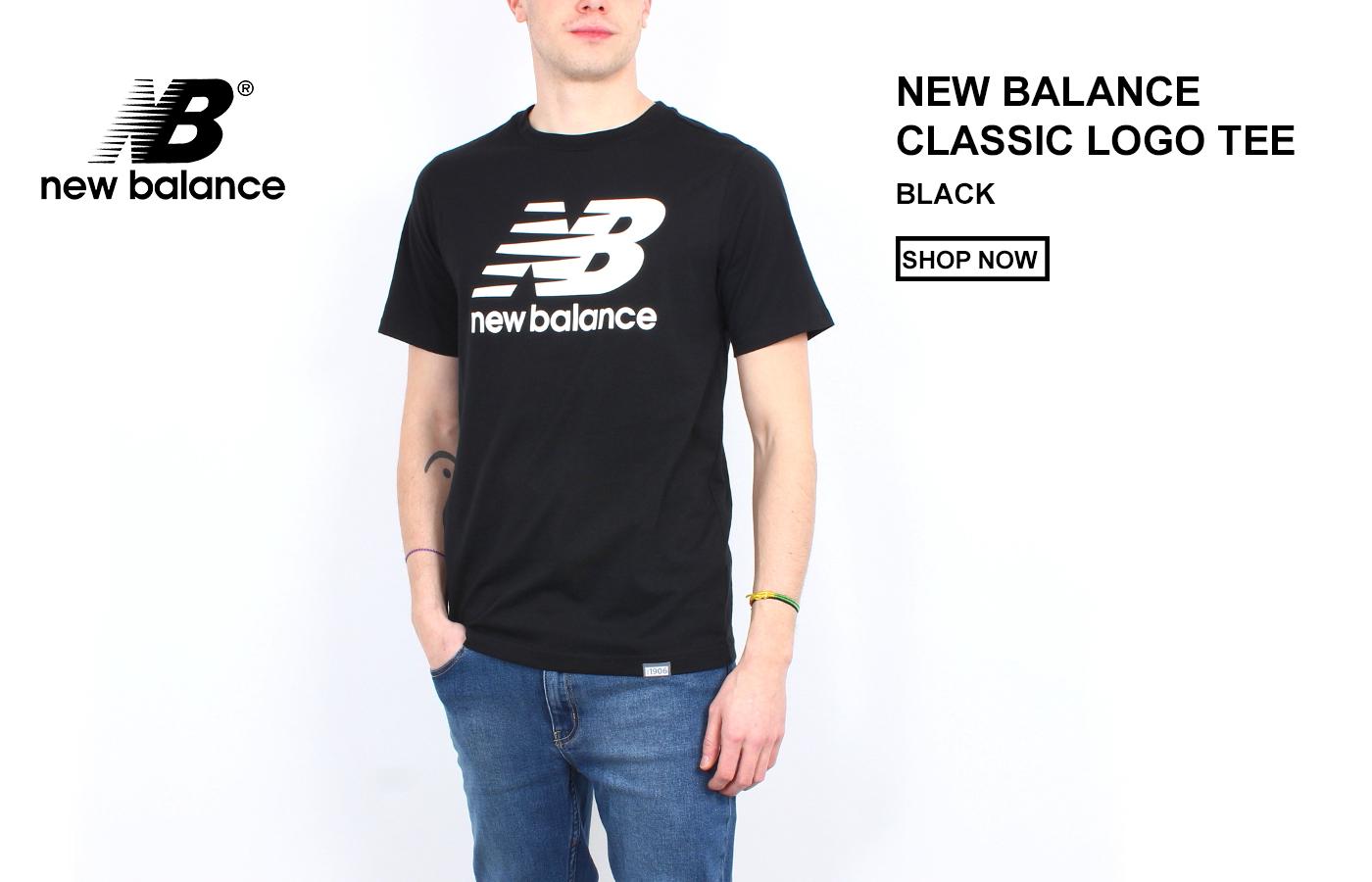 New Balance Classic Logo Tee